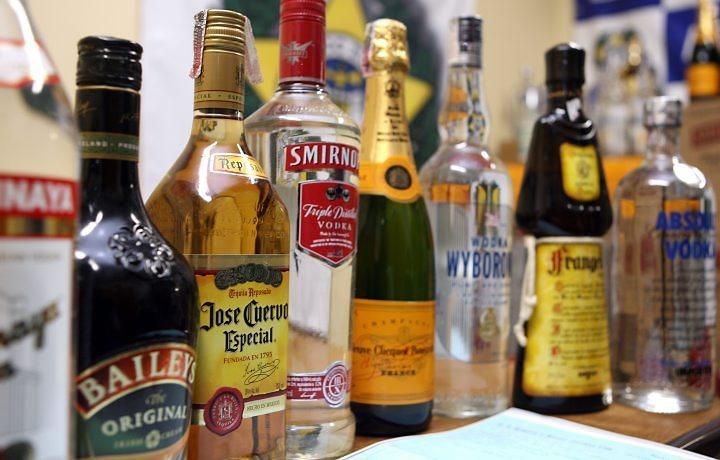 Ingestão de bebidas alcoólicas