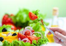 comer menos e investir em salada