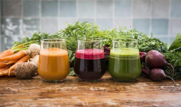 sucos de vegetais para emagrecer