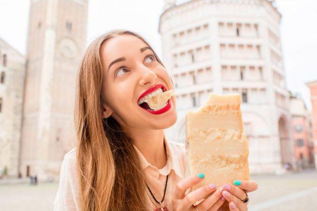 alimentos de forte aroma: queijo