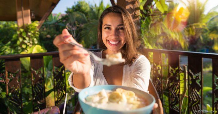 Dieta em etapas com comida saudável