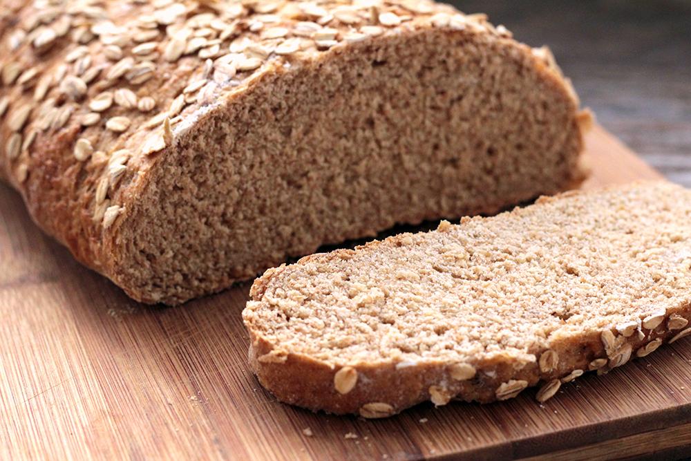 Pão integral ajuda a perder a barriga