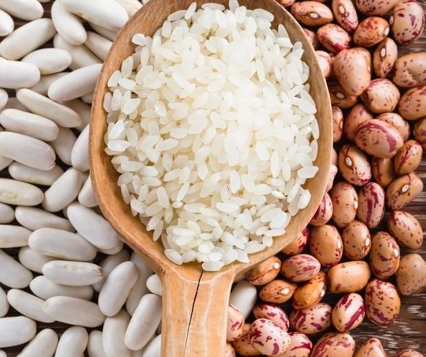 arroz e feijão na dieta