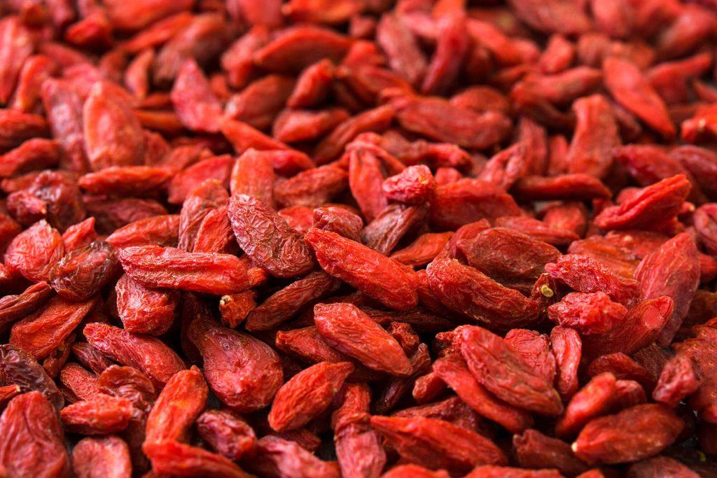 bagas de goji berry