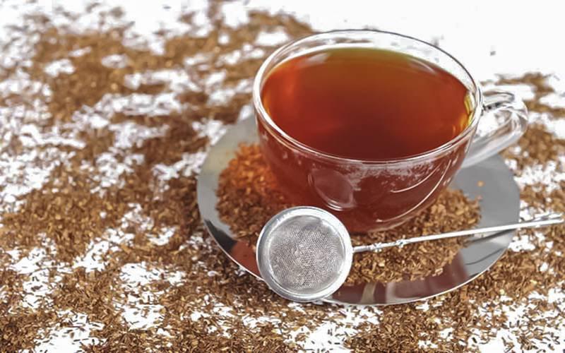 dieta do chá vermelho ou rooibos