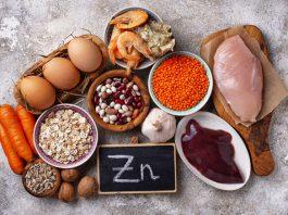 alimentos ricos em zinco