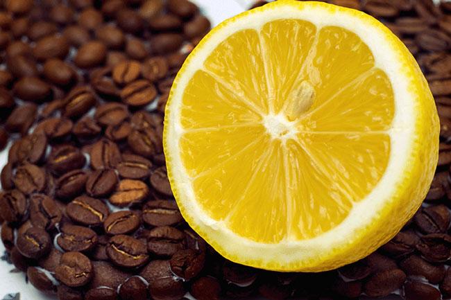 café com limão