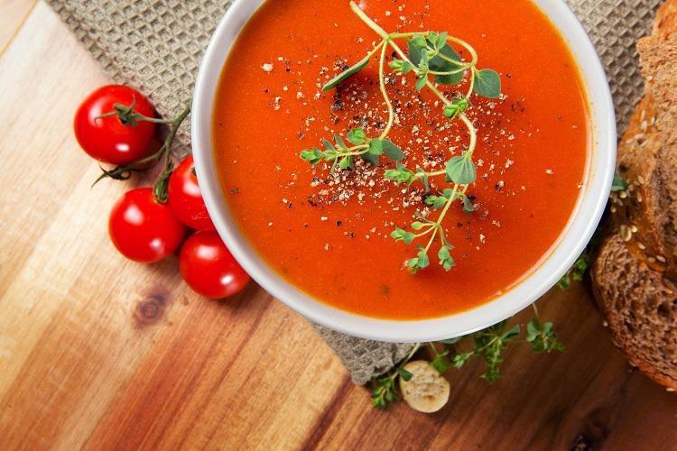 sopa fria de Gaspacho