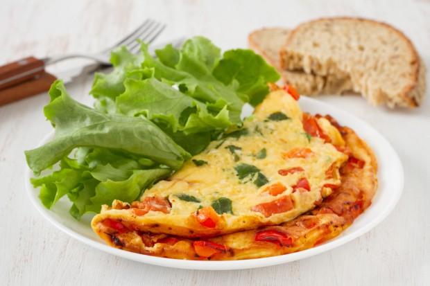 omelete na dieta do ovo