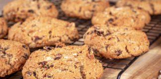 doce na dieta: cookies de aveia e passa