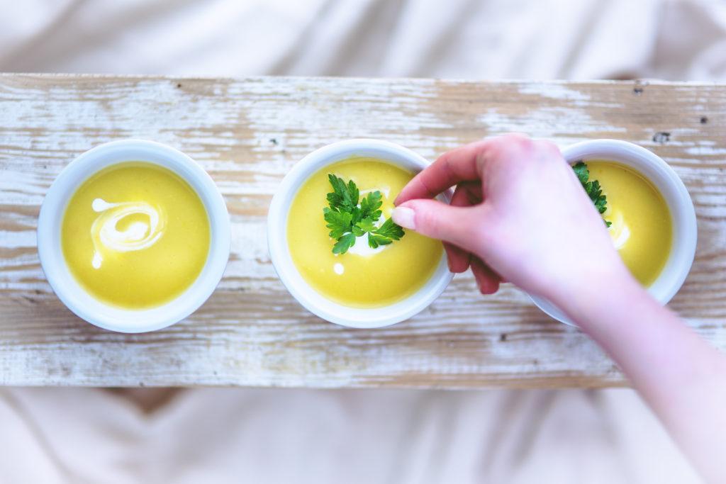 Dieta anti-inflamatória: sopas