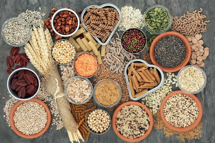 Benefícios dos grãos na alimentação