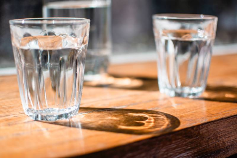 perder a barriga - beba muita agua
