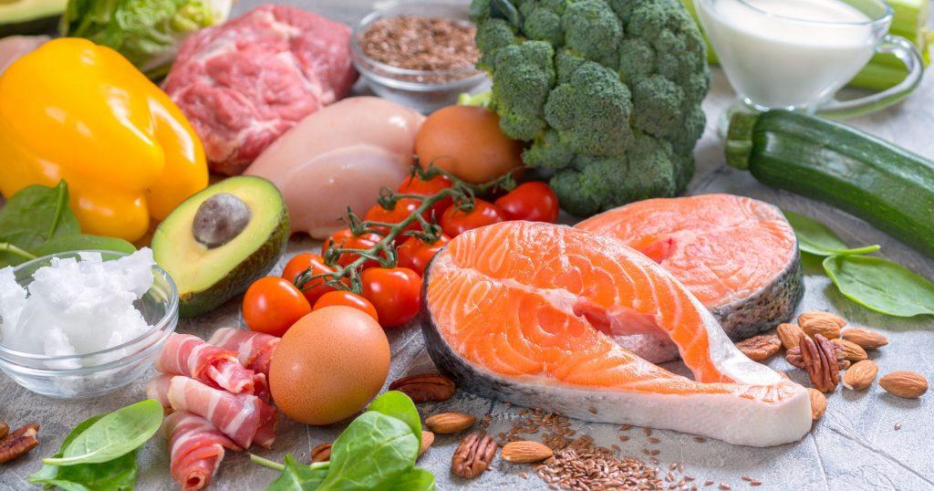 alimentos da dieta cetogénica