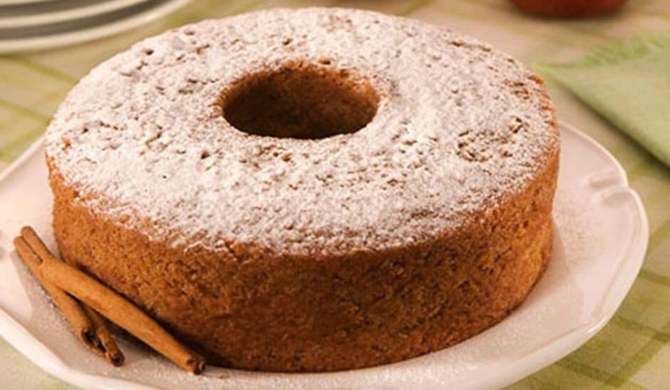bolo de farinha de trigo integral