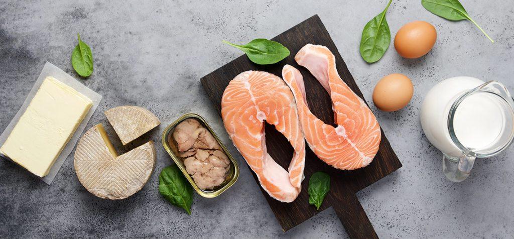 vitamina d em alimentos