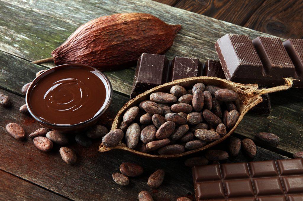 Lista de alimentos saudáveis: Chocolate amargo
