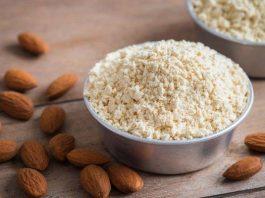 benefícios da farinha de amêndoa