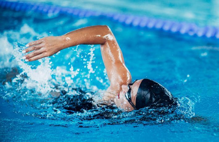 natação seca barriga