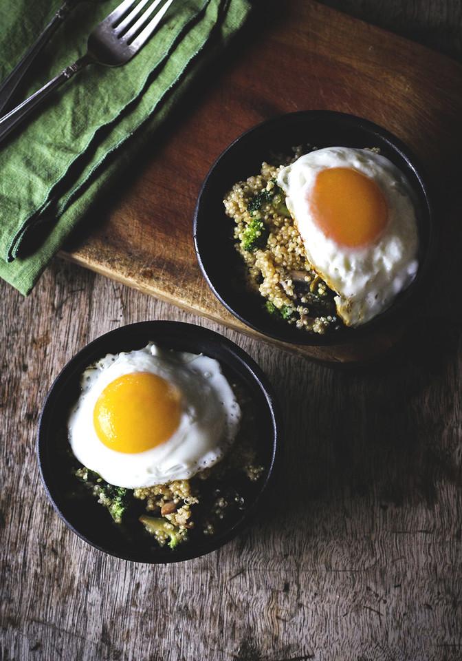 quinoa e ovo
