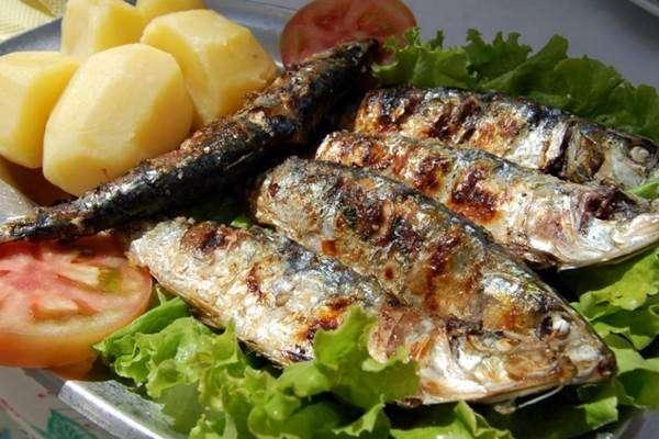 ômega 3 emagrece: sardinhas