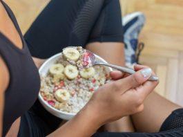 alimentação saudável depois do treino