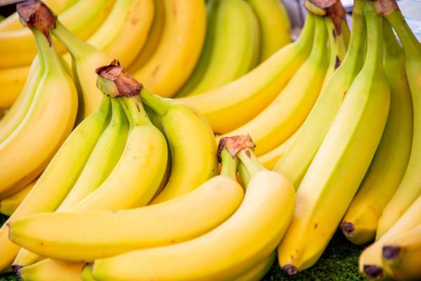 Banana em doce fitness